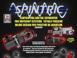 Spintric® Centripetal Air/Oil Separator